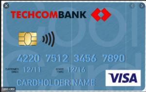 Thẻ tín dụng Techcombank Visa Classic