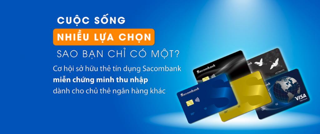 Đáo hạn thẻ tín dụng Sacombank Hà Nội